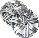 Volkswagen 2Copricerchi g0071454Set (4pezzi) Copricerchi 14pollici Copricerchi Brillant Argento