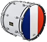 Marching Bass Drum / Stadion Fan Trommel FRANKREICH - FRANCE in 18