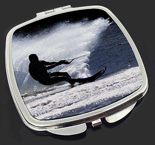 Wasserski Sport Make-up Taschenspiegel Weihnachtsgeschenk