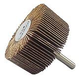 Bardland 50x25x6 10x lija de disco de rueda de papel de lija 60 disco de arena para herramientas rotativas Dremel