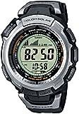 Casio PRO TREK - Reloj digital unisex de cuarzo con correa de resina negra (altímetro, alarma, brújula) - sumergible a 100 metros