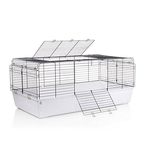 Wagner's ® | 150er Kaninchenkäfig Käfig XXL - auch für Meerschweinchen & Zwergkaninchen, Hasenstall