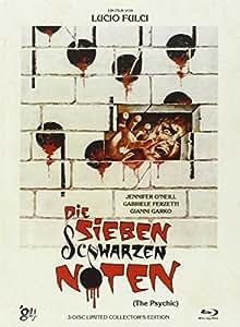 Die sieben schwarzen Noten (The Psychic) - Mediabook [Blu-ray] [Limited Collector's Edition]
