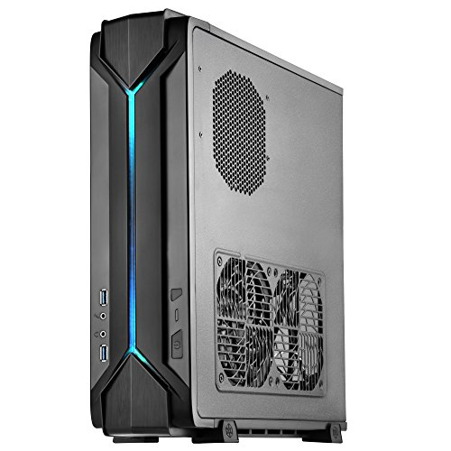 Price comparison product image SilverStone SST-RVZ03B - Raven Mini-ITX Gaming Computer Case, RGB, black
