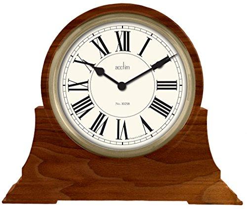Acctim 33826stowehall Napoleón reloj de mesa en nogal