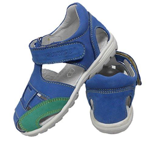 ennellemoo®  Made in EU , Sandales / Tongs garçon bleu/vert