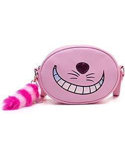 Rose Et Noir Difuzed Sac /à dos Alice au pays des merveilles mod/èle Cheshire Cat Sac /à dos loisir 31 cm