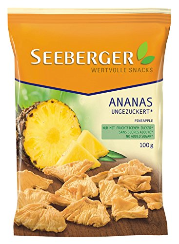 Seeberger Ananas, 3er Pack (3 x 100 g)