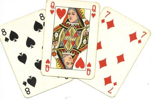 Bigino sulla magia con le carte