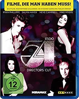 Studio 54 [Blu-ray] [Director's Cut] (B0172MRS3U)   Amazon price tracker / tracking, Amazon price history charts, Amazon price watches, Amazon price drop alerts