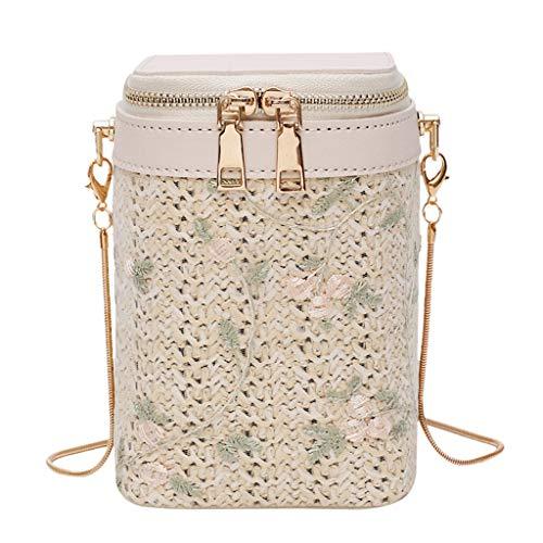 OIKAY Mode Damen Tasche Handtasche Schultertasche Umhängetasche Mode Neue Handtasche Frauen Umhängetasche Schultertasche Strand Elegant Tasche Mädchen 0605@068