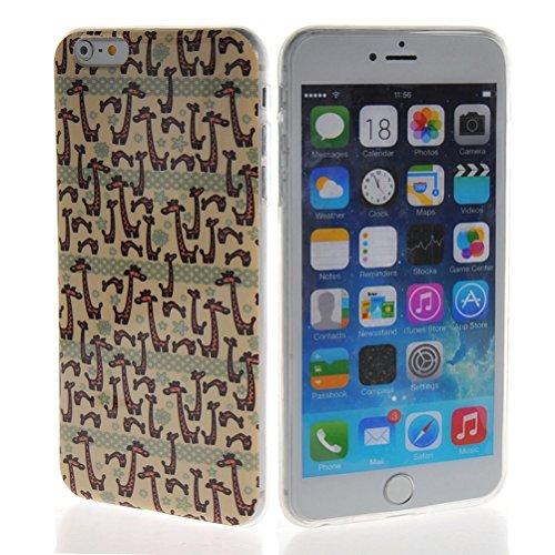 MOONCASE Gel TPU Silicone Housse Coque Etui Case Cover pour Apple iPhone 6 Plus 05
