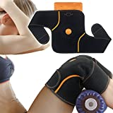 Knee Ice Pack for arthritis, Knee Brace with Adjustable Breathable Neoprene Elbow Support Arm Wrap Strap Hot Cold Gel Reusable Pad for Sports Injuries