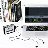from Tonor Tonor Portable Cassette Player Tape Convertor to MP3 via USB Compatible with Laptops and Personal Computers With Earphones Model TN120398