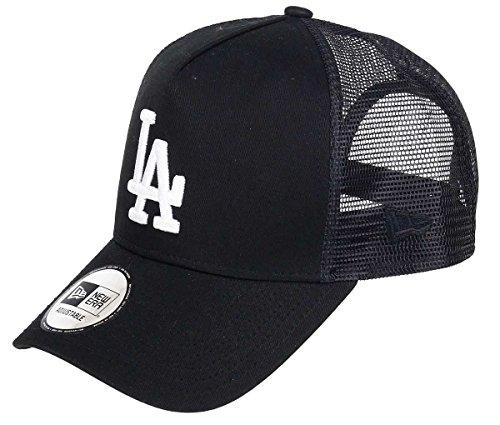 New Era Los Angeles Dodgers A Frame Trucker Cap Black White Edition Black - One-Size