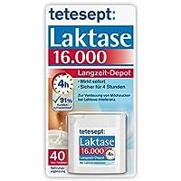 tetesept Laktase 16.000 Langzeit-Depot – Mit 4 Stunden Langzeit-Depot - kontinuierlicher Laktoseabbau in Magen... preisvergleich bei billige-tabletten.eu