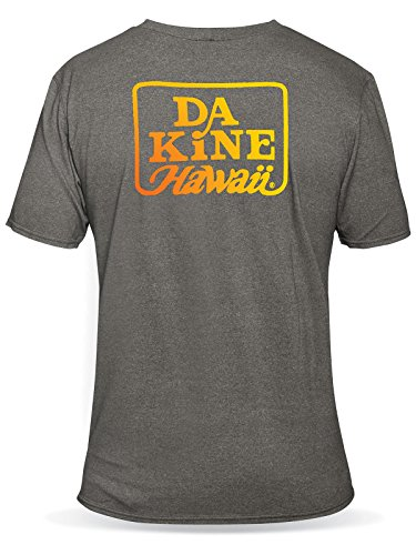 2016 Dakine Roots Loose Fit Short Sleeve Surf T-Shirt Charcoal Heather 10000415 Sizes- - Small (Charcoal Heather Gray)