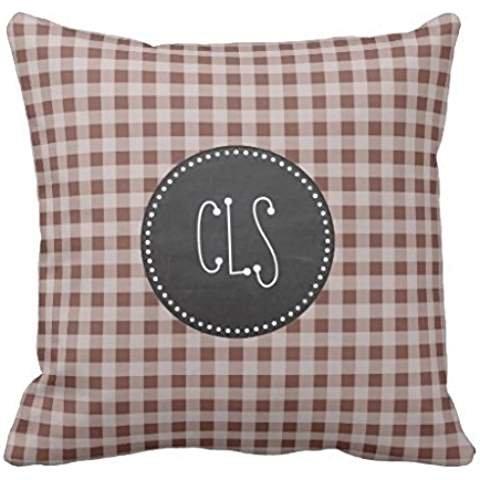 Aqua Gingham Pillowcase Pillow Covers 2222 Pillow Case Cover Cushion