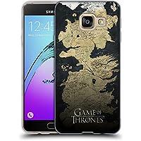 Officiel HBO Game Of Thrones Westeros Carte Art Clé Étui Coque en Gel molle pour Samsung Galaxy A3 (2016)