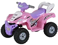 Upgraded Battery and motor;Music and horn sounds;3 speeds; forward and reverse;Forward and reverse;Car painted body;Battery Powered ATV;Battery and charger included;forward and reverse capability