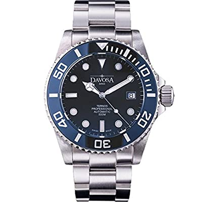 Davosa Swiss Ternos Professional 16155940 Automatic Analog Men's Wrist Watch