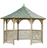 Jagram liveoutside Chopin-Schöne achteckig Holz Garten Pavillon Pavillon. Maße: H 316, DI 336