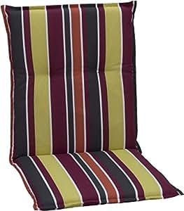 Cuscini per esterno per schienale basso per sedie da for Cuscini amazon
