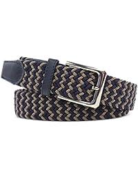 Cinturón cómodo con tejido elástico. hebilla de níquel. El cinturón de tela  elástica es bb2caf056875