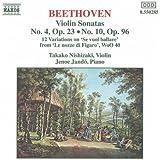 Beethoven: Violin Sonatas Nos 4 & 10/ Mozart Variations