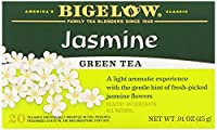 Bigelow Green Tea with Jasmine 20-Count Boxes (Pack of 6)