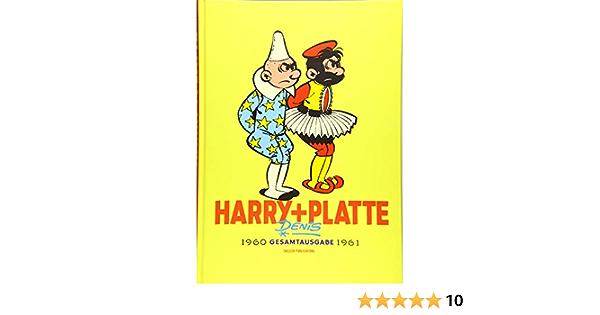 Harry Und Platte Gesamtausgabe Band 3 1960 1961 Harry Und Platte Neue Gesamtausgabe Amazon De Denis Marcel Denis Marcel Schott Eckart Bucher