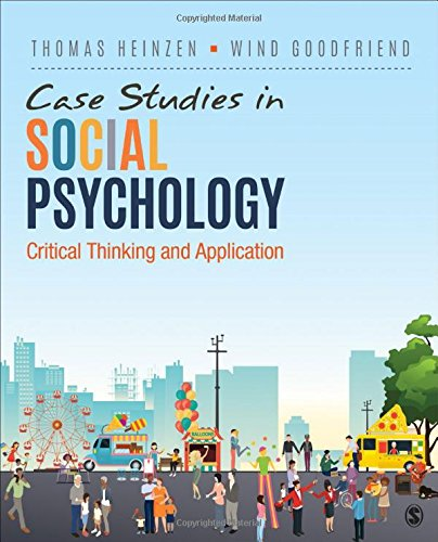 Case Studies in Social Psychology: Critical Thinking and Application por Thomas Heinzen