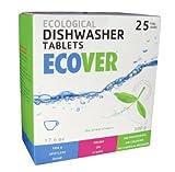 Ecover eco-60330p2Auto ökologische Spülmaschine Tabletten, 17,6oz dieses Multipack enthält 25Tablets. 25Lasten
