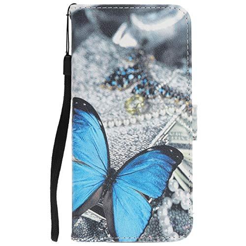 Langlee Für Cubot X18 (2017) Hülle, PU Ledercase Tasche Hüllen Schutzhülle Magnetverschluss Handyhülle Standfunktion Handycover - Design Nr. 10