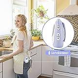 DBPOWER digitales Babyphone mit Temperatursensor, Zwei-Weg und Gegensprechfunktion, 300m Reichweite um immer im Kontakt mit Babys zu bleiben - 5