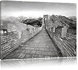 Chinesische Mauer China Weltwunder Bild auf Leinwand, XXL