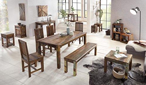 Tavolo Da Pranzo Shabby Chic : Tavolo da pranzo delhi  cm in legno shabby chic in