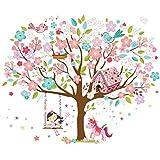 Kath & Cath - Vinilo decorativo para habitación infantil, diseño de árbol