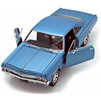 Welly 1965 Chevy Impala SS396 1/24 Scale Diecast Model Car Blue by Welly