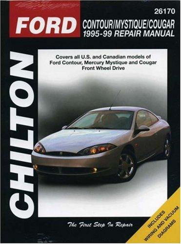 Ford Contour, Mystique, Cougar (1995-99) (Chilton Total Car Care)