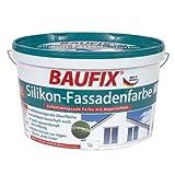 BAUFIX Silikon-Fassadenfarbe weiß