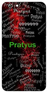 Pratyus (Before Morning) Name & Sign Printed All over customize & Personalized!! Protective back cover for your Smart Phone : Lenovo P1