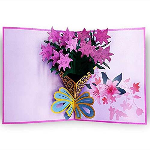0fd7587f6762e BSW 3D Love Pop Up Karte und Umschlag - Romantisch einzigartige  Pop-Up-Grußkarte für Geburtstag, Jahrestag, Valentinstag, Hochzeit und  Muttertag, ...