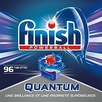 Finish Powerball Quantum Pastilles Lave-Vaisselle - 96 Pastilles