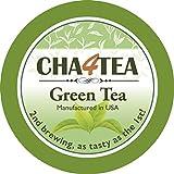 Cha4Tea Green Tea K Cups for Keurig K-Cup, 18-Count