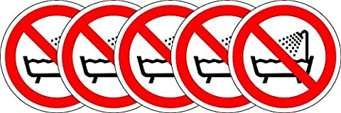 Étiquette de sécurité ISO Sign - International Ne pas utiliser