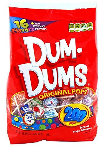 - Dum Dum Pops - Dum Dum Pops, 200 Count, Assorted, Sold as 1 Package, MJK71