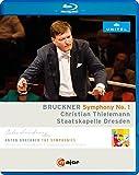 Bruckner, A.: Symphony No. 1 (1877 Linz version, ed. L. Nowak) (Dresden Staatskapelle, Thielemann) (Blu-ray, HD) [Blu-ray]