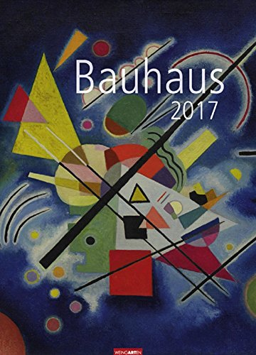 Kalender 2017 Fotokalender Bauhaus Wandkalender 49.0 x 68.0 cm Hochformat Kunstkalender