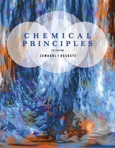 Chemical Principles, 7th Edition by Steven S. Zumdahl (2012-07-31)